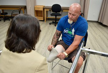 NEW PROSTHETIC INSTITUTE COULD HELP THOUSANDS OF WOUNDED WARRIORS