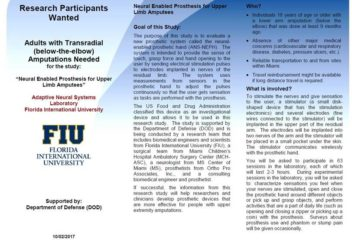 FIU Research Participants Wanted