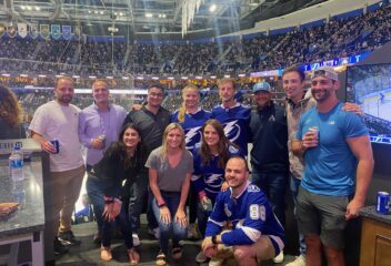 IIOP Celebrates Lightning Playoff Win with Students, Faculty, and ALPS South